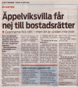 Mitt i Bromma 24 juni 2014